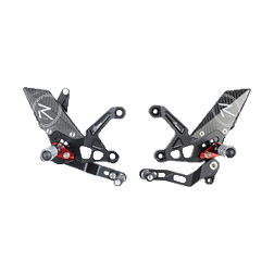 "Footrest system ""R"" from LighTech for Aprilia RSV 4 / RF / RR (17-20)"
