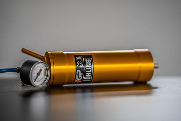 Öhlins Druckbehälter für Pneumatic Preload Adjuster