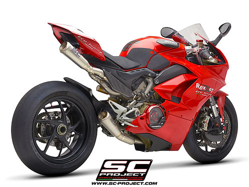 SC Project Titan Komplette Auspuffanlage mit S1-GP für Ducati V4 & V4 S (18-20)