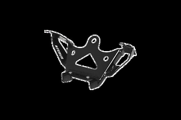 Aluminium Instrumentenhalter für Yamaha YZF-R6 Rj27 (17-21) von Febur
