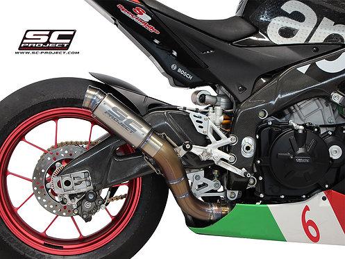 SC Project GP70-R Slip-On für Aprilia RSV4/Factory/R (09-14)