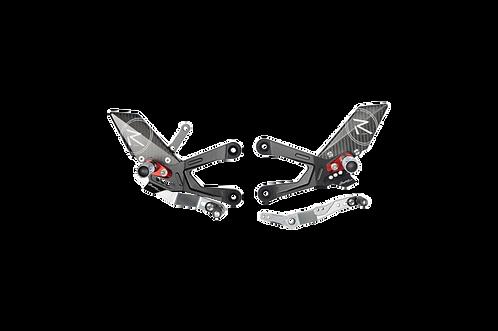 """Fußrastenanlage """"R"""" von LighTech für Honda CBR 1000 RR-R SC82 (20-21) (mit ABE)"""