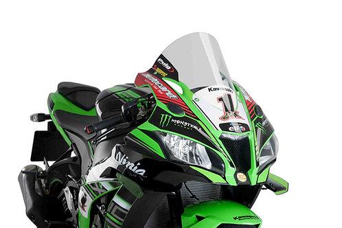 Puig R-Racer Windshield für Kawasaki ZX-10R (16-20) 9849