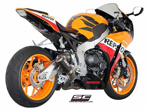 SC Project CR-T Slip-On aus Carbon oder Titan für Honda CBR 1000 RR (08-13)