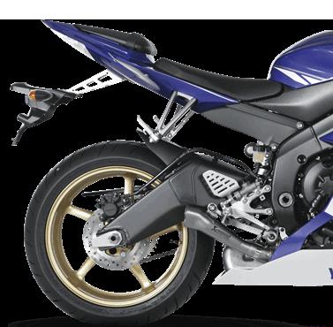 Akrapovic Slip-On Line (Titanium) for Yamaha YZF-R6 (06-20) SM-Y6SO6T