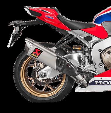 Akrapovic Slip-On Line (Titan) für Honda CBR1000RR (Bj: 17-19)S-H10SO17-HAPXLT/1