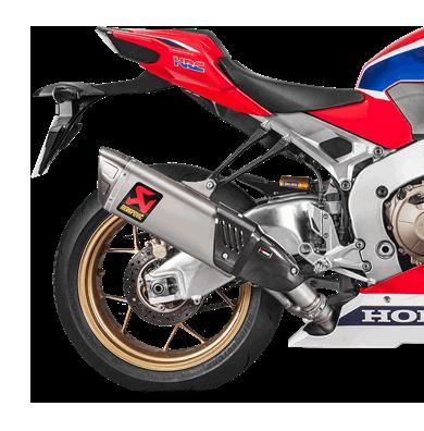 Akrapovic Slip-On Line (Titan) for Honda CBR1000RR (Bj: 17-19) S-H10SO17-HAPXLT / 1