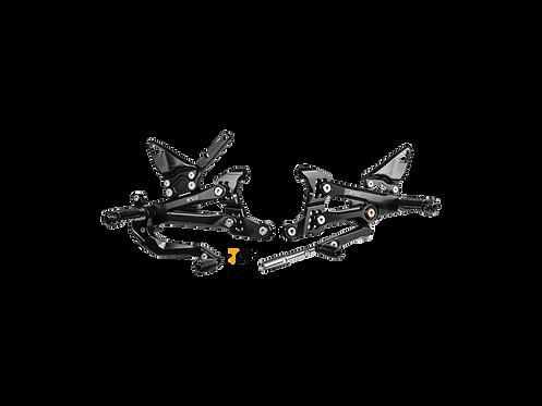 Fußrastenanlage von Bonamici Racing für Ducati Panigale V4 R (2019-2020) | DV4