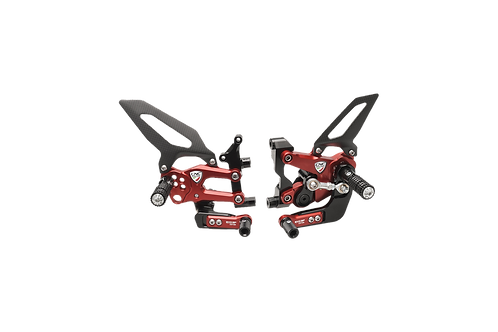 """Footrest system """"WSBK EVO GP"""" by CNC Racing for Ducati Panigale 899 (13-16)"""