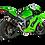 Thumbnail: Akrapovic Evolution Line (Titanium) for Kawasaki ZX-10 R / RR (Bj: 21) S-K10E10-RC