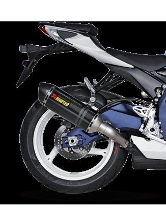 Akrapovic Slip-On Line (Carbon) for Suzuki GSXR 600/750 (Bj: 11-17) S-S6SO8-HZC