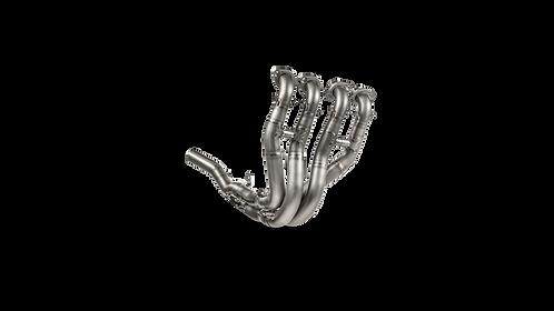Akrapovic Krümmer (Titanium) für Kawasaki ZX-10 R/RR (Bj:21) E-K10E2