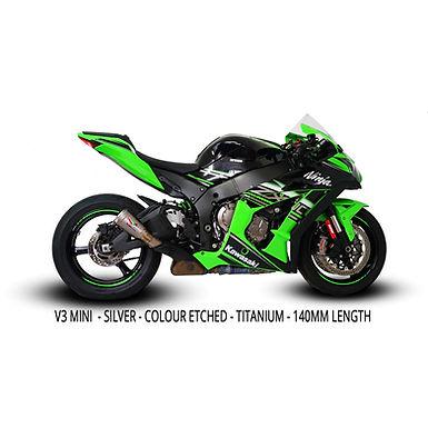 Austin Racing Slip-On (V3/GP1RS/V3Mini) für Kawasaki ZX-10 R/RR (10-20)