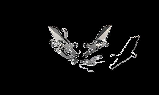 Fußrastenanlage von LighTech für Honda CBR 1000 RR (08-19) (mit ABE)