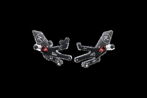 """Fußrastenanlage """"R"""" von LighTech für Ducati Panigale V4 S Corse/Speciale (18-19)"""