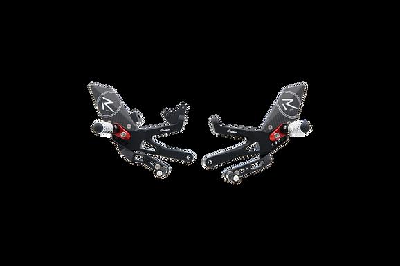"""Fußrastenanlage """"R"""" von LighTech für Ducati Panigale V4 & V4 S (18-21)"""