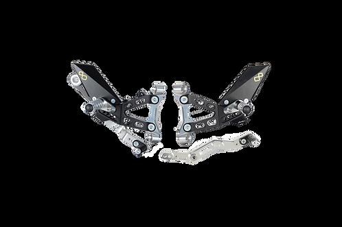 LighTech footrest system for BMW S 1000 RR (19-20)
