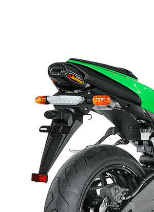Akrapovic Slip-On Line (Titanium) for Kawasaki ZX-6R (Bj: 07-08) S-K6SO5-HACT