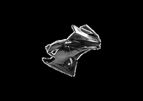 Front fairing set in GRP for Kawasaki ZX-636 R (19-21) by CRC Fairings