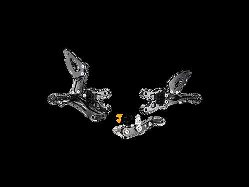 Footrest system from Bonamici for Suzuki GSX-R 1000 (09-16) | S007