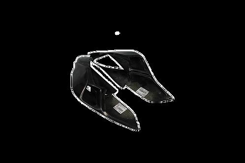 Rear fairing in fiberglass for Ducati Panigale 899 (13-16) CRC fairings