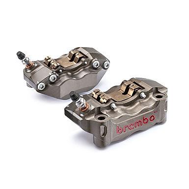 Brembo Bremszangen CNC P4 30/34 100mm für Aprilia RSV 4/Factory/R/RR (09-16)