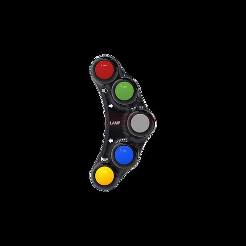 Lenkerschalter mit 5 Buttons für Suzuki GSX-R 600/750 (11-17) | JP PLS 019