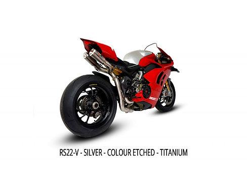 Austin Racing Titanium Komplettanlage (RS22) für Ducati Panigale V4/S/R (18-21)