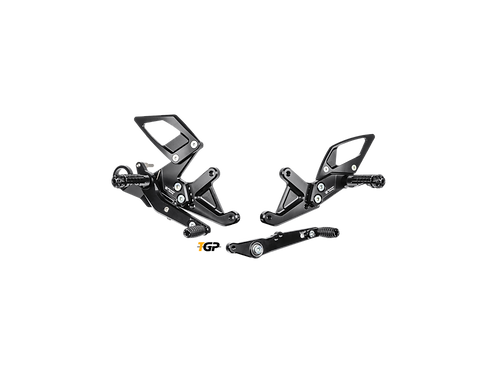 Footrest system from Bonamici Racing for BMW S 1000 RR (15-18) | B005