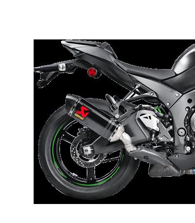 Akrapovic Slip-On Line (Carbon) für Kawasaki ZX-10R/RR (Bj:16-20) S-K10SO16-HZC