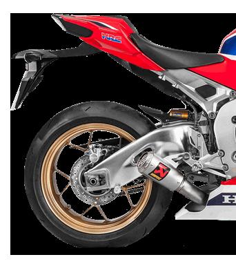 Akrapovic Slip-On Line (Titanium) for Honda CBR1000RR (Bj: 17-19) S-H10SO18-CBT