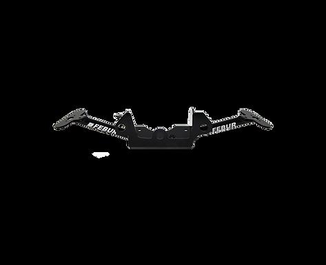 Aluminium Instrumentenhalter für Kawasaki ZX-10 R/RR (16-20) von Febur