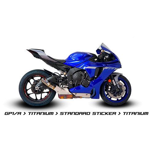 Austin Racing Slip-On (GP1RS/V3Mini) für Yamaha YZF-R1/M (15-21)