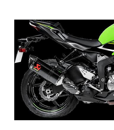 Akrapovic Slip-On Line (Carbon) for Kawasaki ZX-6R / RR / 636 (Bj: 09-20) S-K6SO7-HZC