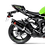 Thumbnail: Akrapovic Slip-On Line (Carbon) for Kawasaki ZX-6R / RR / 636 (Bj: 09-20) S-K6SO7-HZC