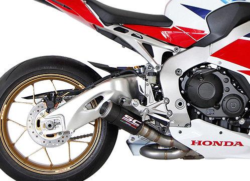 SC Project CR-T Slip-On aus Carbon für Honda CBR 1000 RR (14-16)