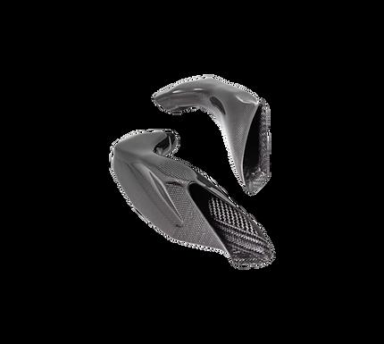Airbox Rohre in Carbon von LighTech für Suzuki GSX-R 1000 (17-21) | CARS6519