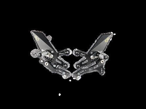 Rearset from LighTech for Aprilia RSV 4 / RF / RR (17-20)