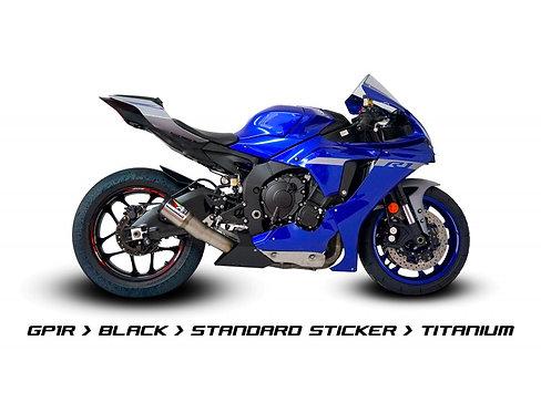 Austin Racing Komplettanlage Inconel (GP1R) für Yamaha YZF-R1/M (15-2