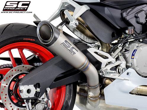 SC Project S1 Slip-On aus Titan für Ducati Panigale 959 (16-19)