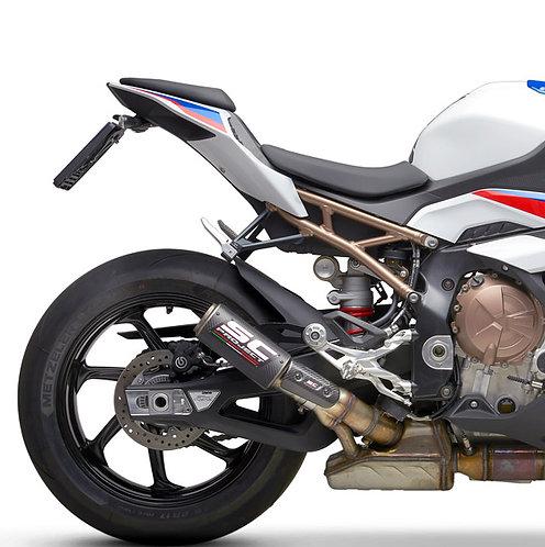 SC Project CR-T Slip-On mit Titangitter für BMW S1000RR (Bj: 19-20)
