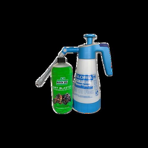 Rock Oil DIRT BLASTER 1 liter + foam sprayer FM10 Flex