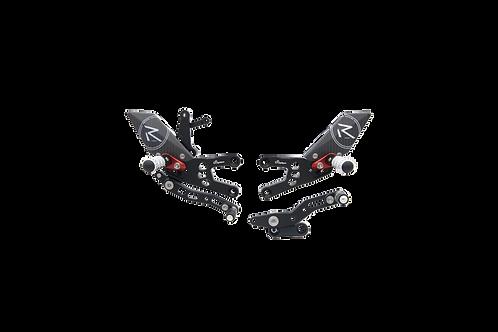 """Fußrastenanlage """"R"""" von LighTech für Honda CBR 600 RR (07-16)(mit ABE)"""
