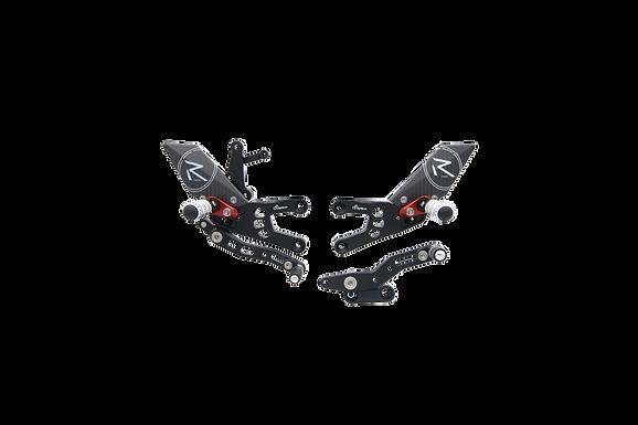 """Fußrastenanlage """"R"""" von LighTech für Honda CBR 600 RR (07-16) (mit ABE)"""