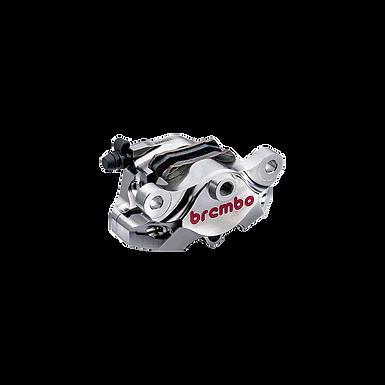 Bremszange Brembo P2 34 CNC 84mm vernickelt für hinten | 120.A441.40
