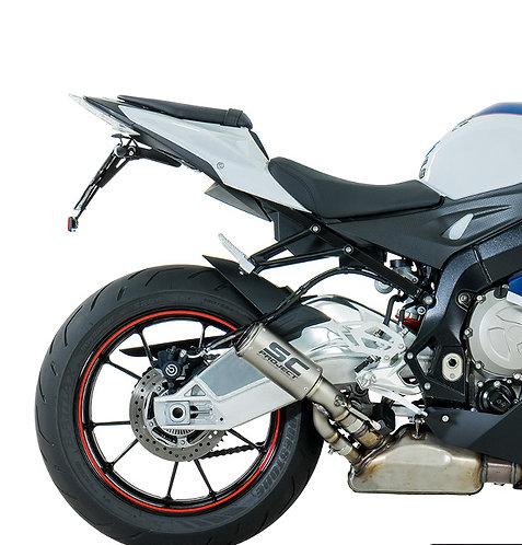 SC Project CR-T Slip-On mit Titanium-Verbindung für BMW S1000RR (Bj: 17-18)