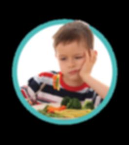 niños picky para comer
