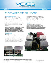 Vexos EMS Automotive EMS and PCB Solutions