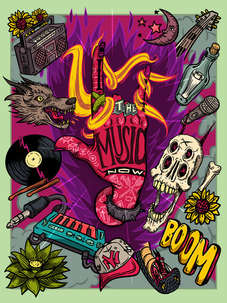 Live the music