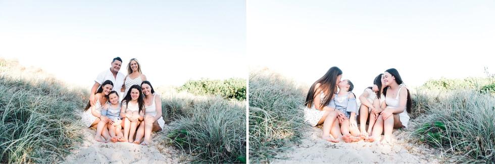 joy philippe photography. gold coast photographer, gold coast family photographer, gold coast portrait photographer, gold coast, the spit, southport, family, family session, gold coast beach family session, spring, sunset, gold coast sunset